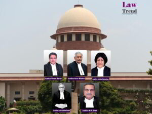Arun Mishra, Vineet Saran, Indira Banerjee, Aniruddha Bose, M.R. Shah, Supreme Court, Constitution Bench
