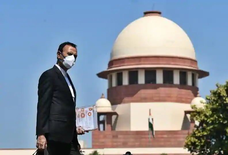 lawyer image covid mask supreme court
