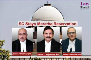 Maratha Reservation L Nageshwar Rao, Hemant Gupta and Ravindra Bhatt