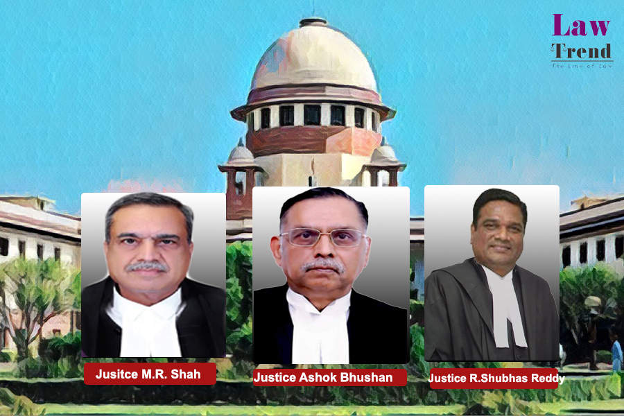Justices Ashok Bhushan, M.R. Shah and Subhash Reddy