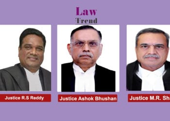 Justices Ashok Bhushan. R Shubhas Reddy and M.R. Shah