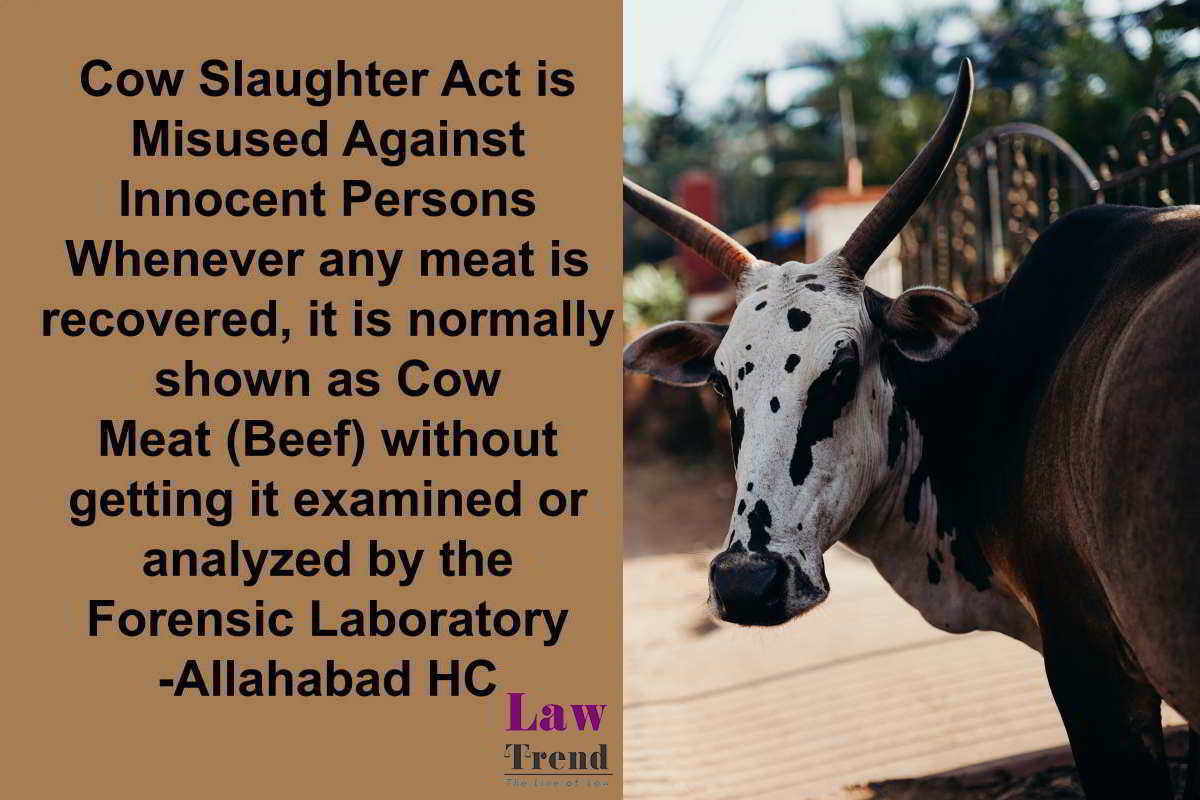 Cow Slaughter Act