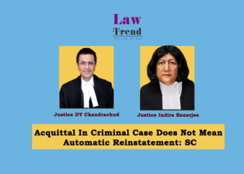 Justice DY Chandrachud and Indira banerjee