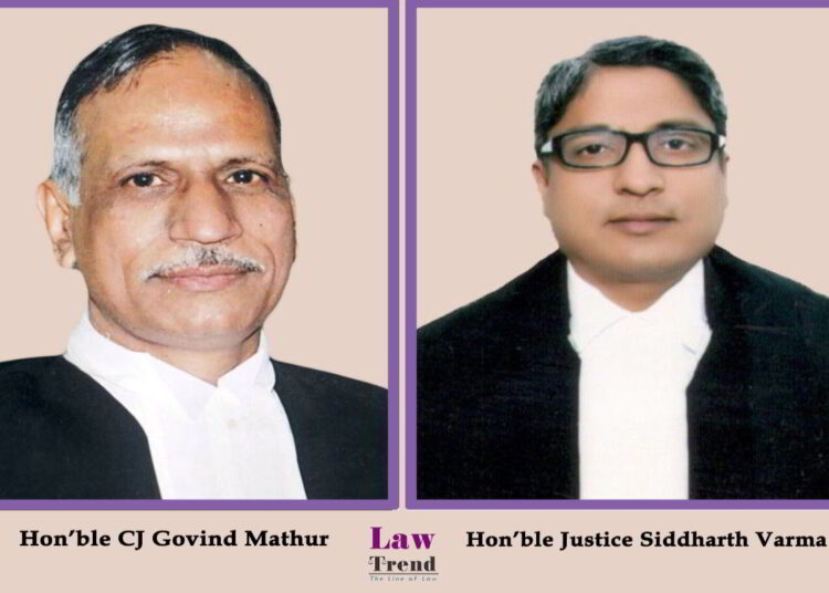 Justice Govind Mathur Siddharth Varma