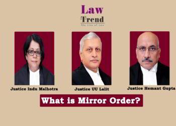 Justices UU Lalit Indu Malhotra and Hemant Gupta