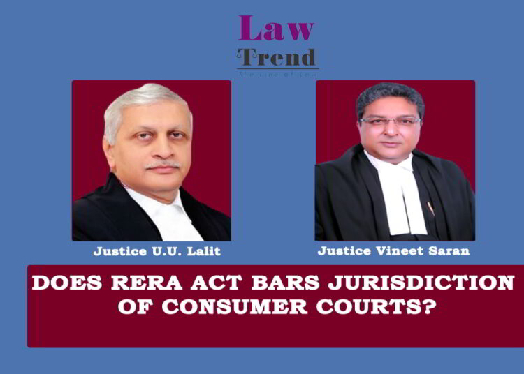 Justices UU Lalit and Justice Vineet Saran