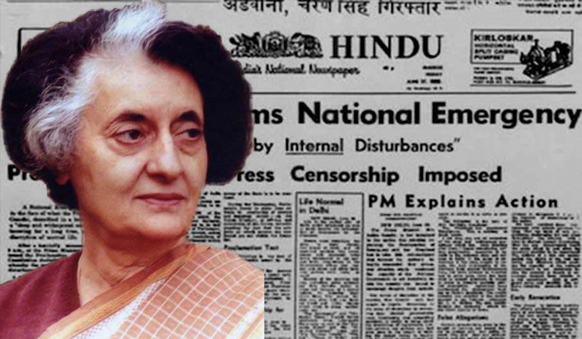 National Emergency Indira Gandhi