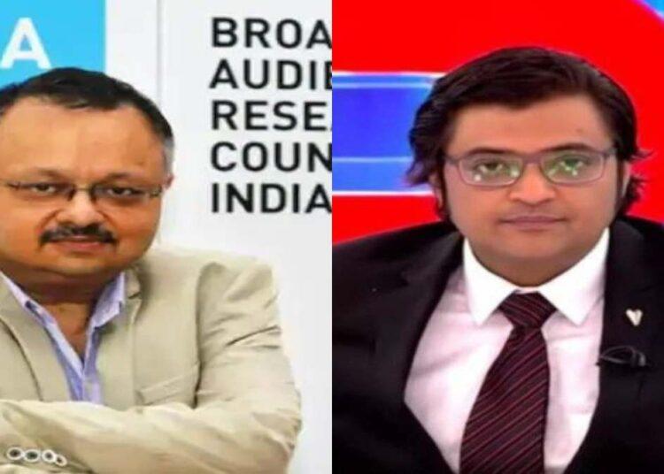 Arnab Goswami BARC HEad Das gupta