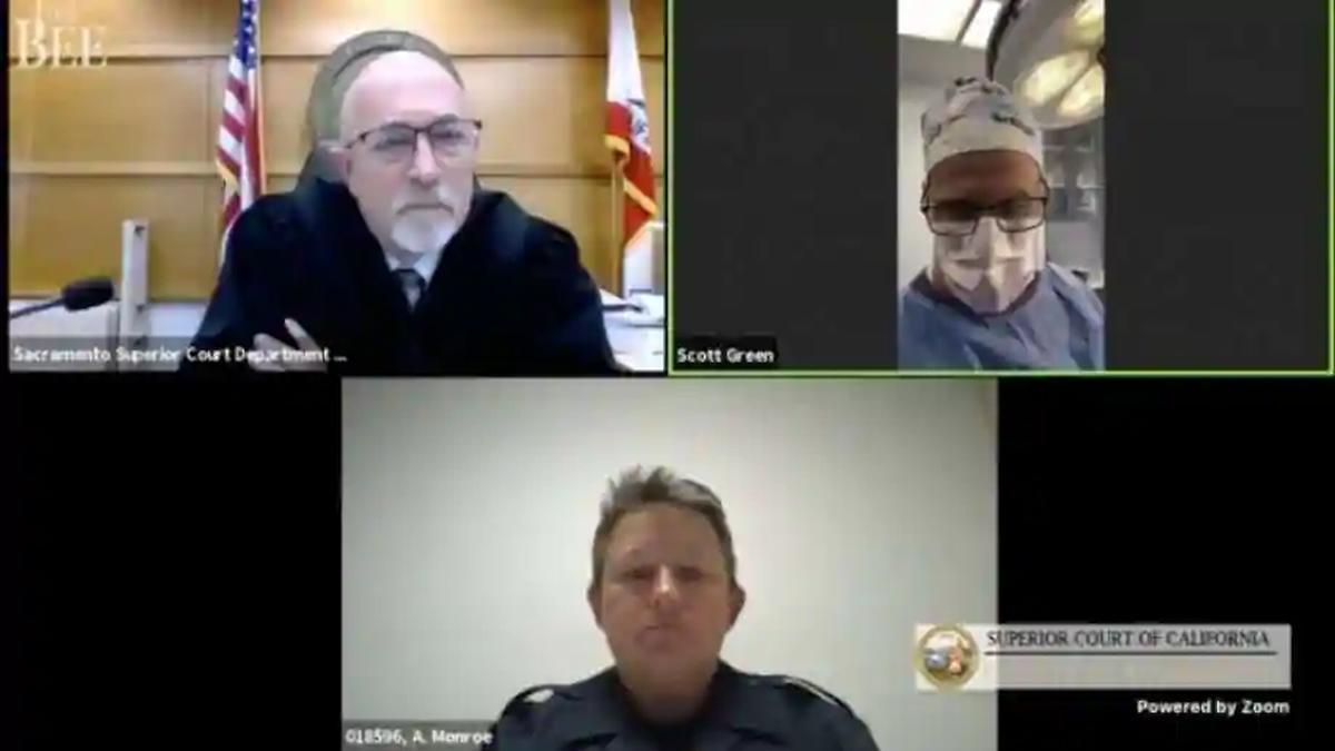 Doctor surgey virtual court