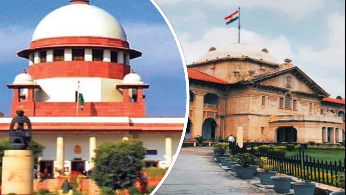 Supreme Court Allahabad High Court law trend