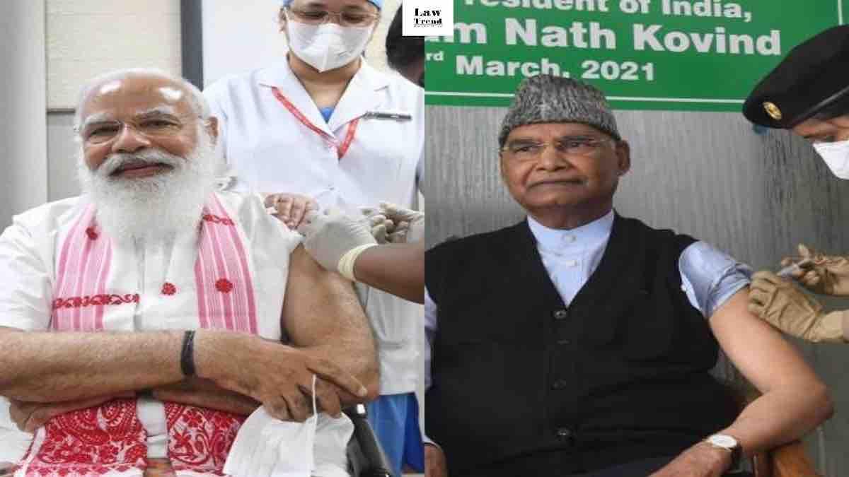 PM Modi and President India COVID19 Vaccine