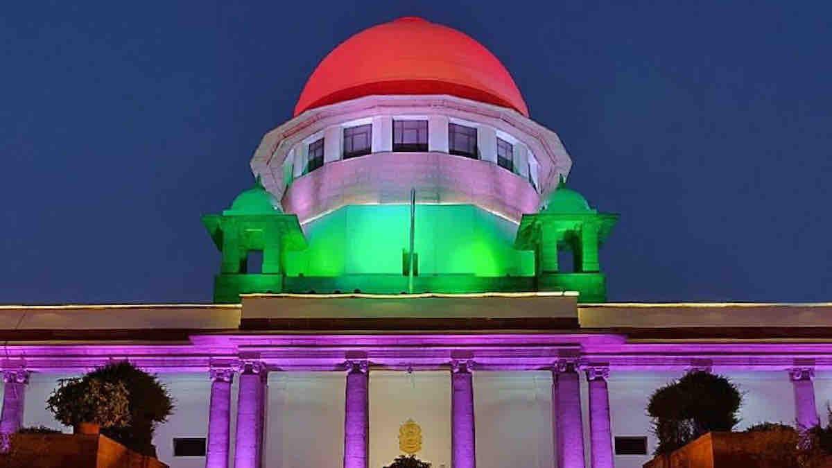 Supreme Court tri colour
