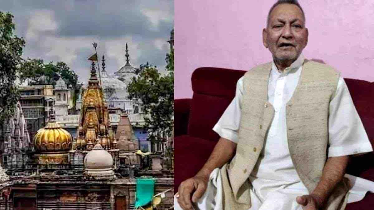 kashi vishwanath temple petitioner getting threat