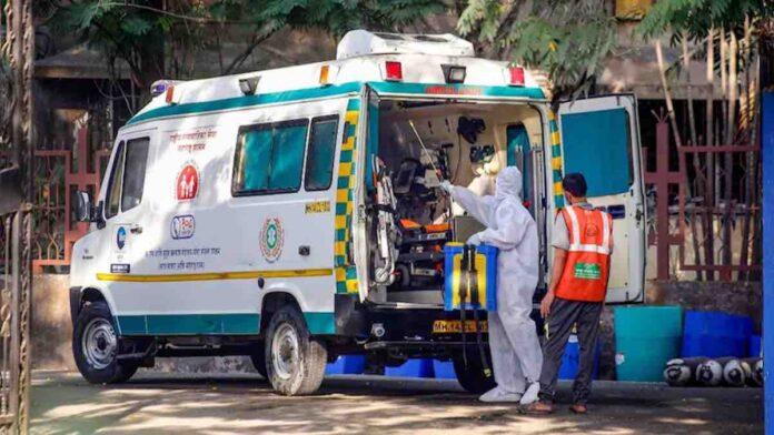 Ambulance COVID India