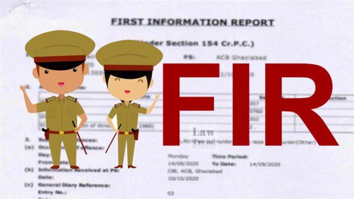 FIR Police Arrest