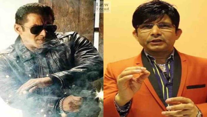 Salman Khan Kamal R Khan Radeh Defamation