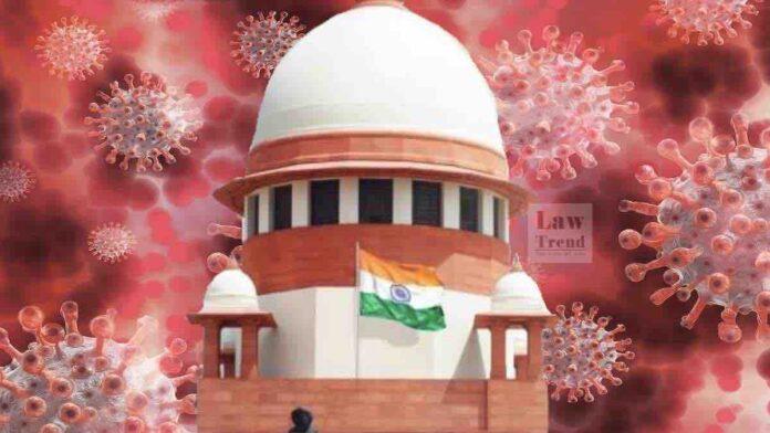Supreme Court COVID image