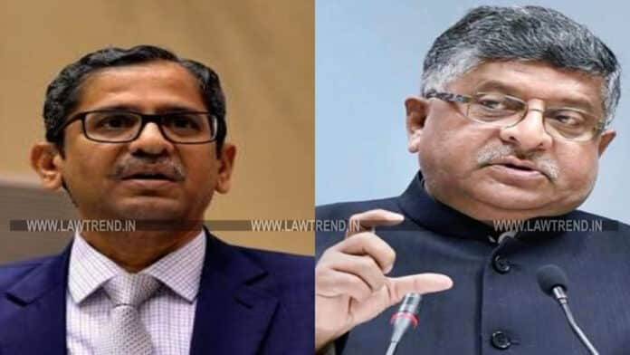 Provide Financial Help to Advocates Struggling Due to COVID19: CJI NV Ramana Writes to Union Law Minister