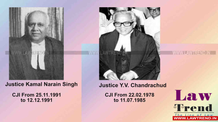 Do You Know- Who had the Shortest and Longest Tenure as Chief Justice of India?