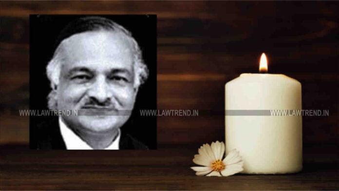 Justice Rajendra Nath Agarwal CJ Delhi HC Passes Away