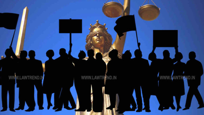Protest Rajasthan Against Claim of SCBA For Appointment of Supreme Court Advocates as High Court Judges