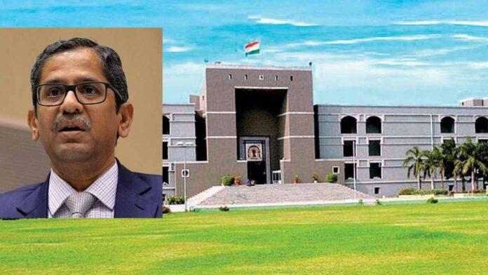 Gujrat HC-CJI Ramana
