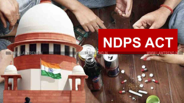 Drug Consumer Should Not be Punished, Says Plea in Supreme Court Challenging Provisions of NDPS Act